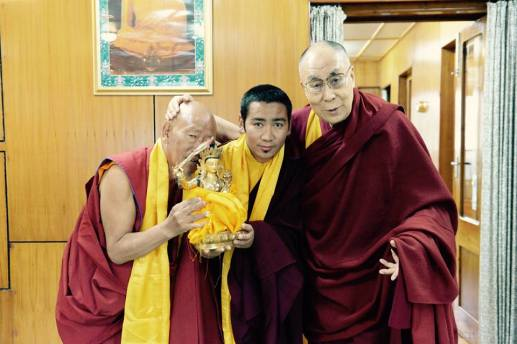 Zhijed Lineage Holders and Dalai Lama_2